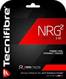 Tecnifibre NRG2 Multifilament Tennis Racquet String Sets – 16 and 17 Gauge in Black Color – in Multi-Packs – Best for Power and Comfort (2-4-6-8-Packs)