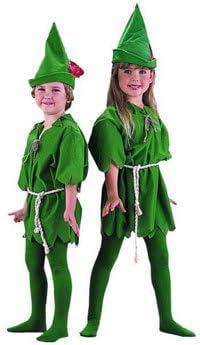 Dulce Peter Pan disfraz para niños 3 piezas 5-7 años: Amazon.es ...