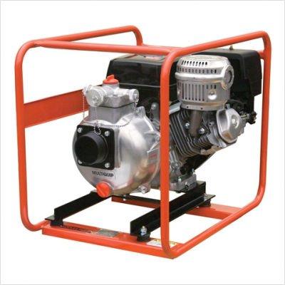 Multiquip Qpt305slt Honda Gx340 High Pressure Pump  3  Suction  145 Gpm  328 Max Head