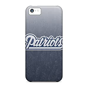 Defender Case With Nice Appearance (new England Patriots) For Iphone 5c