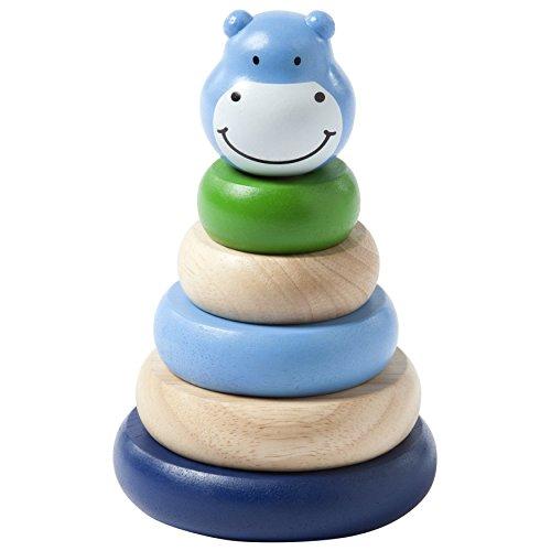Manhattan Toy Wooden Stacker Baby Developmental Toy, Blue