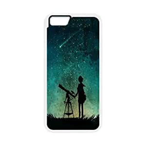 """Bright stars in the sky Case Cover Best For Apple Iphone 6,4.7"""" screen Cases KHRN-U555126"""
