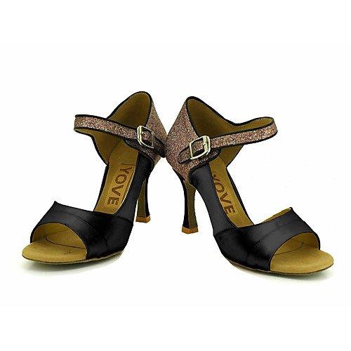 Zapatillas T Mujeres Q Profesión Negro de Negras T de Baile Las de la EwdxqAF