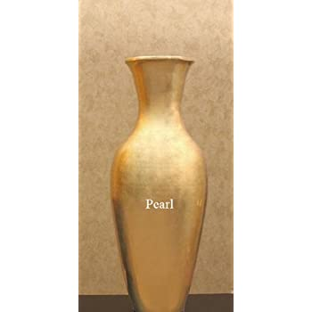Shopping the Globe 28 Inch Classic Bamboo Floor Vase - Pearl