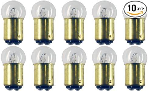 G-6 shape CEC Industries #1178 Bulbs BA15d Base Box of 10 9.315 W 13.5 V
