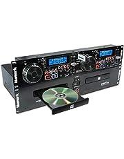 Numark CDN77USB - Professionele dubbele USB- en mp3-cd-speler voor professioneel DJ-gebruik met prestatiegerichte functieset, cd/mp3cd-ondersteuning en tag- en mapherkenning, zwart