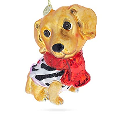 BestPysanky-Golden-Retriever-Puppy-Blown-Glass-Christmas-Ornament-UNK