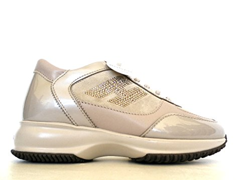 Hogan Donna Sneaker, Beige - Cipria - Taglia: 35½