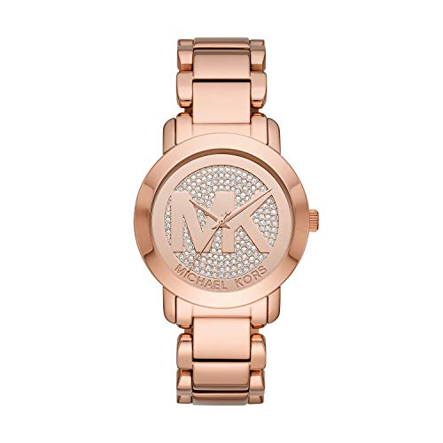 fca63cac098d MICHAEL KORS Crystal Pave Dial Ladies Watch MK3394  Amazon.ca  Watches