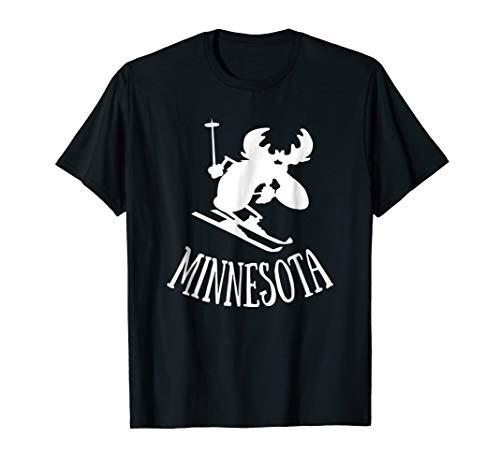Minnesota shirt | MN Moose Downhill Skiing t-shirt