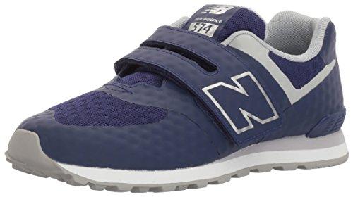 New Balance 574 Velcro, Entrenadores Unisex Niños Azul (Aqua Foam)