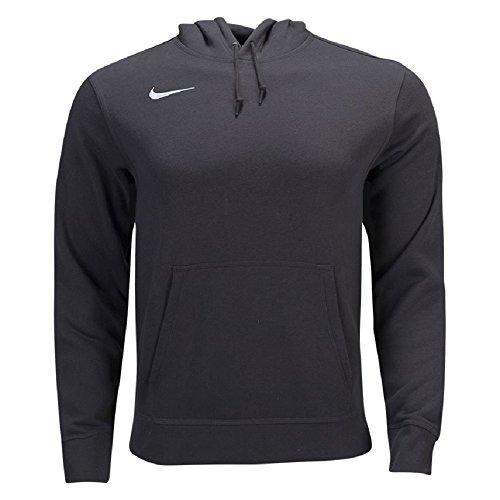 Nike Men's Club Fleece Hoodie (Medium, Anthracite/White)