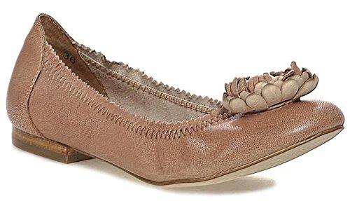 Caprice 22103 Schuhe Damenschuhe Ballerinas Beige Leder Gr. 36