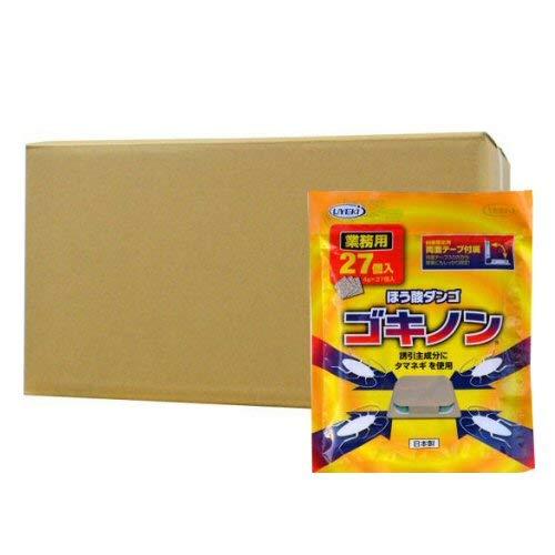 UYEKI(ウエキ)ゴキノン 業務用27個入×80個セット ゴキブリ駆除用ほう酸ダンゴ B07MZGDWMN
