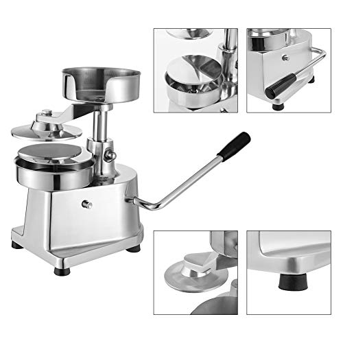 Hamburger Patty Maker,Commercial Hamburger Press Patty Maker Machine Garden BBQ Tools Sandwich Makers Panini Presses for Grilling Meat Seafood Vegetarian Patties by GOLDEN ELEPHANT (Image #3)