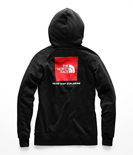The North Face Womens Red Box Pullover Hoodie - TNF Black & TNF White - XS