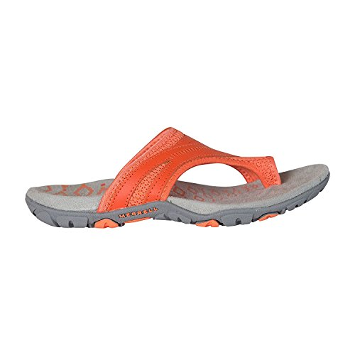 Merrell Women's, Sandspur Delta Flip Thong Sandals, Tigerlilly/Melon, 11 B(M) US Merrell Women Footwear Sneakers