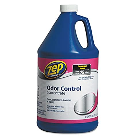 Zep Odor Control Concentrate - Liquid Solution - 128 fl oz (4 quart) - Fresh Scent - Blue (Zep Stain Remover)