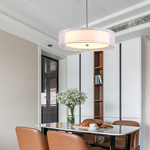 Drum Pendant Light Fixture - 4