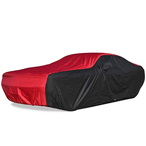 SR1 Performance Ultraguard Plus Car Cover for 2005-2019 Dodge Charger - Indoor/Outdoor Protection (Red/Black)