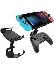 mewmewcat Controlador de jogo Mount-Clip Holder Compatível com Nintendo Switch Pro Controller Gamepad Bracket para NS Switch Console Acessório