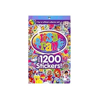 LISA FRANK Sticker Book Over 1200 Stickers