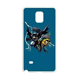 Batman and Robin Kick Samsung Galaxy Note 4 Cell Phone Case White DIY GIFT pp001_8180044