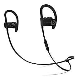Beats Powerbeats 3 ML8V2LL/A Wireless Active headphones in Black Powerbeats 3 Wirelsess earphines are ready for any challenge with up to 40 hours of battery life to fuel multiple long workouts and powerful, dynamic sound to keep you pushing.