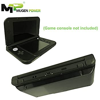 "Nintendo New 3DS XL (USA & Europe) Mugen Power - 6250mAh Extended Battery Over 3X Longer Runtime ""No game console included"" (New Black Cover)"