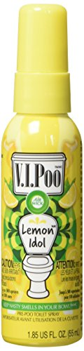 Price comparison product image Air Wick V.I.Poo Toilet Perfume Spray, Lemon Idol, 1.85oz