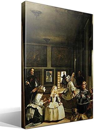 cuadro canvas Las Meninas. La Familia de Felipe IV de Velázquez - 70cm x 95cm