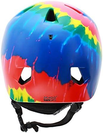 bern(バーン) バーン ヘルメット キッズ オールシーズン BERN NINO TIE DYE タイダイ 国内正規品【C1】  XS-S(48-51.5cm)