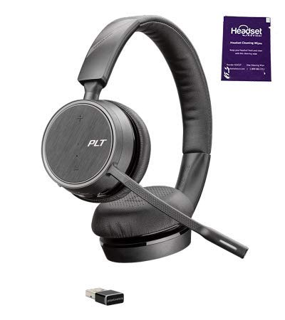 [해외]Plantronics Voyager 4220 UC Wireless Headset BundleHeadset advor Wipe 헤드셋 / Plantronics Voyager 4220 UC Wireless Headset BundleHeadset Advisor Wipe