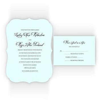amazon com fancy frame printable wedding invitations on specialty