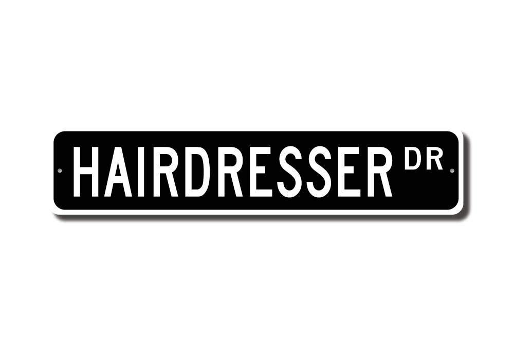 qidushop - Cartel de peluquería para decoración de ...