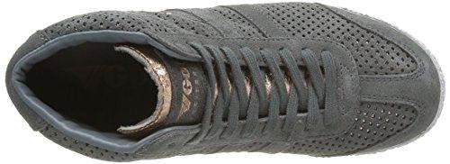 grigio basse Sneakers Grigio oro Suede Glimmer High Harrier Donna rosa Gola CXqwZ8q