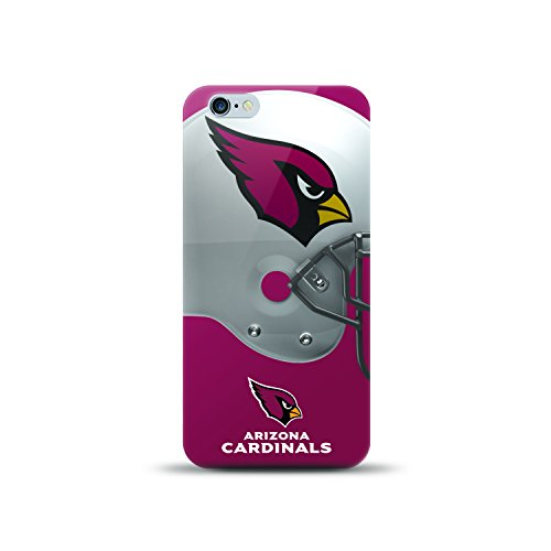 MIZCO SPORTS NFL-HL6-CARD iPhone 6/6S Helmet Case for NFL Arizona Cardinals