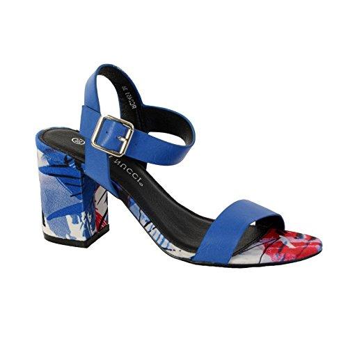 Sandalias Enza Nucci RC2451 Azul Bleu