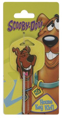 KW1 YEL Scooby Keyblank - Furniture Scooby Doo