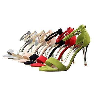 US7 5 disponibles sandalias 5 mujer vestirse Zapatos colores EU38 CN38 más Tacones Stiletto toe Open de con talón toe peep UK5 Zafa6xzq
