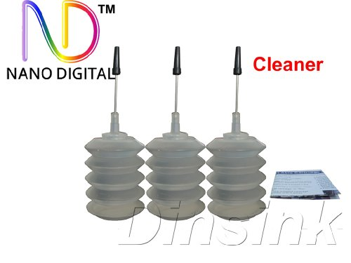 ND Brand printer head cleaner 90ml for HP Canon Lexmark Brother Dell Printers.The item with ND logo.