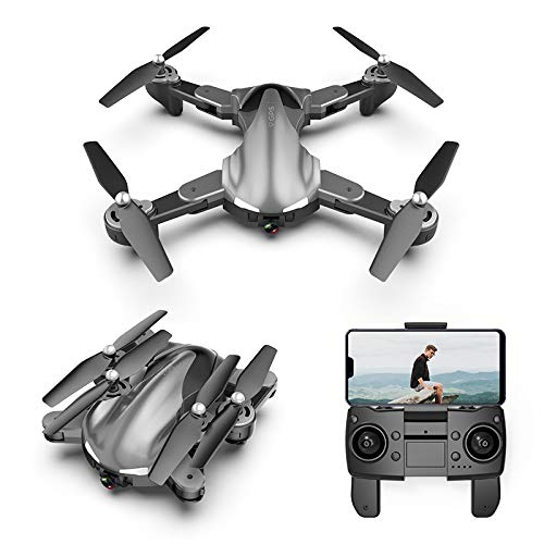 NiGHT LiONS TECH BF19 GPS Drone with 4K Camera for Adults,5G WiFi FPV Live Video Foldable Drone GPS Return Home,Follow…