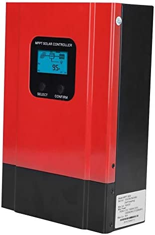 Cuque 60A MPPT Solarladeregler, 12V/24V/36V/48V Max. 150V Eingang Batterieladegerät