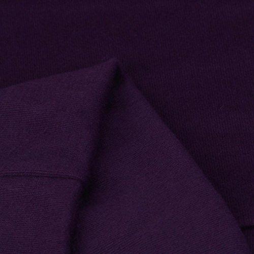 Line Chica Noche Bolsillo Vestido Escote Etiqueta Corto con Manga Barco Vestido Ropa Mini con Dress Invierno Jerseys Púrpura otoño Ajustado Fiesta sin larga A Mujer Larga Koly Sudadera Vestido 14wqvZv
