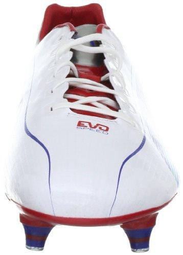Puma - Botas de fútbol para hombre Weiss (white-limoges-ribbon red 01) (Weiss (white-limoges-ribbon red 01))
