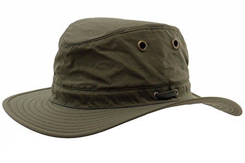 Henschel Men's 10 Point Multi-Feature Booney with Solid Crown, Olive Green, ()