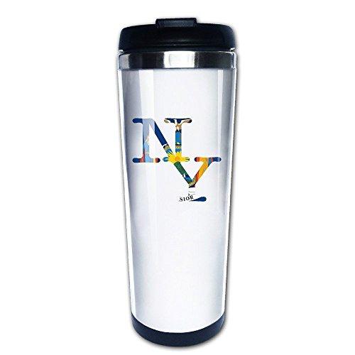 MIOPAIGE New York NY Vacuum Cup Coffee/Travel Mugs