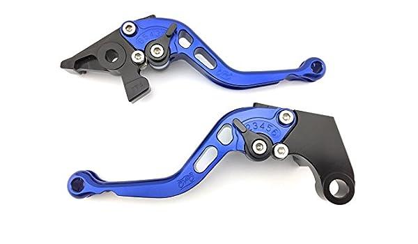 Par de Palancas cortos aluminio anodizado para Kawasaki ...