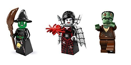 Lego Witch, Monster, and Vampire Lady Minifigures Custom Bundle]()