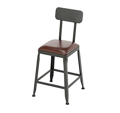 B 404071cm Chair - Fashion Personality Solid Wood bar high Stool Chair (color   B, Size   40  40  71cm)